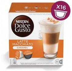 Капсулы KRUPS NESCAFE Dolce Gusto Latte Macchiato Caramel, для кофемашин капсульного типа, 8 шт [12136960]
