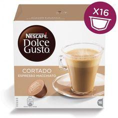Капсулы KRUPS NESCAFE Dolce Gusto Cortado, для кофемашин капсульного типа, 16 шт [12121894]