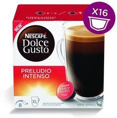 Капсулы KRUPS NESCAFE Dolce Gusto Preludio Intenso, для кофемашин капсульного типа, 16 шт [12323697]