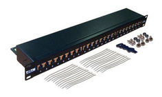 "Патч-панель Lanmaster (TWT-PP24STP ) 19"" 1U 24xRJ45 кат.5e FTP"