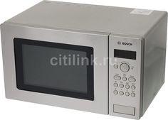 Микроволновая печь BOSCH HMT 75G451R, серебристый