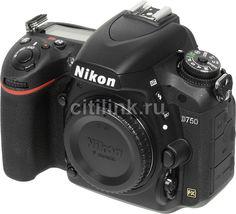 Зеркальный фотоаппарат NIKON D750 BODY body, черный