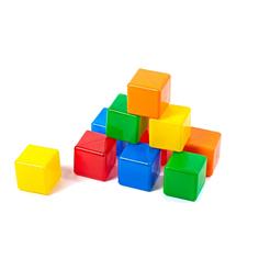 Игра Строим вместе счастливое детство Набор кубиков 5253