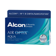 Контактные линзы Alcon Air Optix Aqua (6 линз / 8.6 / -0.5)