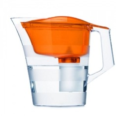 Барьер твист оранжевый кувшин-фильтр