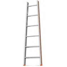 Приставная лестница 6 ступеней эйфель комфорт-профи-пирамида