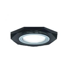 Точечный светильник gauss backlight графит/хром gu5.3 led подсветка 4100k bl056