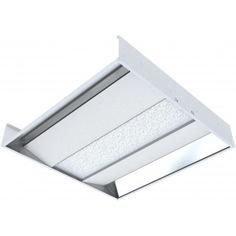 Офисный встраиваемый светодиодный светильник отраженного света, колотый лед 595x595x100мм 36вт 6500к varton v1-a0-00025-10000-2003665