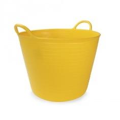 Корзина пластиковая жёлтая №1 rubi 25л 88700