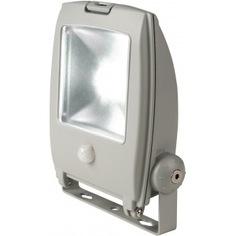 Светодиодный прожектор с датчиком движения uniel ulf-s22-10w/ww sensor ip65 110-240в 07423