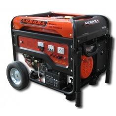 Бензиновый генератор aurora age 7500 dsx 6776