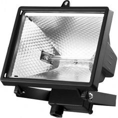 Галогенный прожектор с дугой крепления под установку, черный, 1500вт stayer master maxlight 57107-b