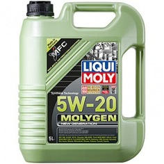 Нс-синтетическое моторное масло liqui moly molygen new generation 5w-20 5л 8540