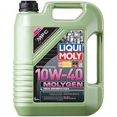 Нс-синтетическое моторное масло liqui moly molygen new generation 10w-40 5л 9061