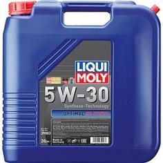 Нс-синтетическое моторное масло liqui moly optimal ht synth 5w-30 a3/b4 20л 39003