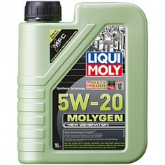 Нс-синтетическое моторное масло liqui moly molygen new generation 5w-20 1л 8539