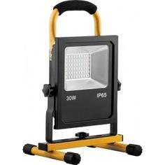 Переносной светодиодный прожектор с зарядным устройством ip65 30w 6400k feron ll-913 32089
