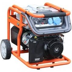 Бензиновый генератор zongshen kb 7000e 1t90df703