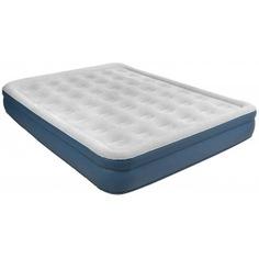 Кровать со встроенным электронасосом relax high raised air bed queen 27278eu