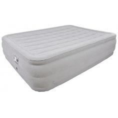 Кровать со встроенным электронасосом relax deluxe high rising air bed queen 27291eu