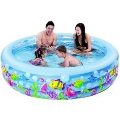 Бассейн надувной jilong aquarium 185x50см 17027