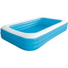 Бассейн надувной jilong giant 305х183х56см, голубой 10184