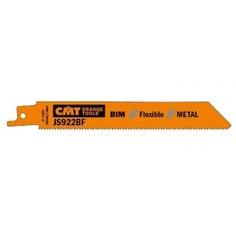 Пилки сабельные по металлу(150 мм; шаг зубьев 1.8 мм) 5 шт.cmt js922bf-5