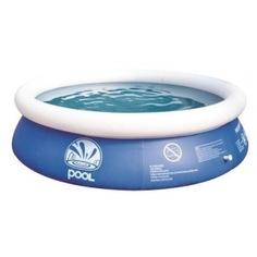 Бассейн jilong prompt set pools 240х63см, круглый синий 10201eu