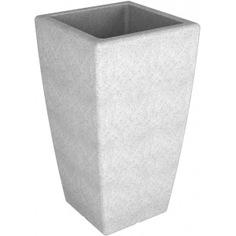 Кашпо p 900 белый гранит flox 910.0001.004.0