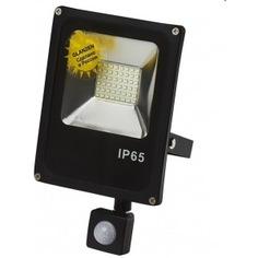 Светодиодный прожектор c датчиком движения glanzen fad-0011-20 00-00001790