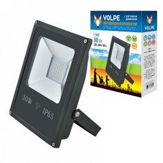 Светодиодный прожектор с датчиком движения volpe ulf-q509 30w/dw sensor ip65 210-240b black ul-00001911