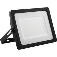 Светодиодный прожектор 2835 smd 150w 6400k ip65 ac220v/50hz, черный с матовым стеклом feron ll-923 32104