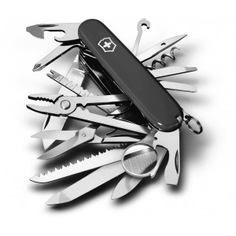 Швейцарский нож черный victorinox swisschamp 1.6795.3