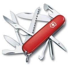 Швейцарский нож victorinox fieldmaster 1.4713 91 мм, 15 функций, красный