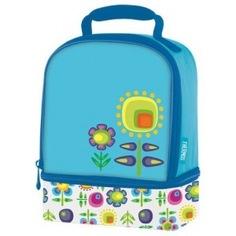 Детская термосумка thermos floral dual голубая 889423