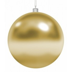 Елочная фигура neon-night шар 30 см, глянцевая, золотая 502-021