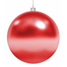 Елочная фигура neon-night шар 30 см, красная, глянцевая 502-022
