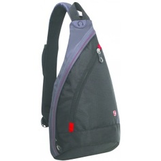 Рюкзак wenger mono sling черный/серый 1092230