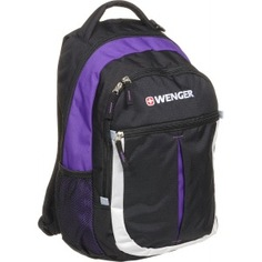 Рюкзак wenger montreux чёрный/пурпурный/серебряный 13852915