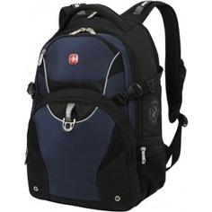 Рюкзак wenger чёрный/синий 3263203410