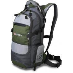 Рюкзак wenger narrow hiking pack серый/серебристый/зеленый 13024415