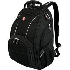 Рюкзак wenger синий/чёрный, 32 л 3181032000408