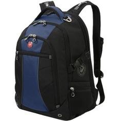 Рюкзак wenger черный/синий 3118302408