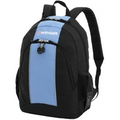 Рюкзак wenger чёрный/голубой 17222315