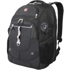 Рюкзак wenger чёрный/серебристый 6968204408