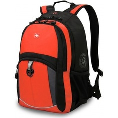 Рюкзак wenger оранжевый/черный/серый 3191207408