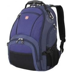 Рюкзак wenger синий/черный 3181303408