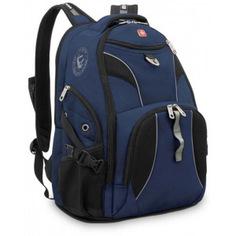 Рюкзак wenger синий/черный 98673215