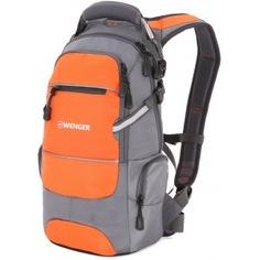 Рюкзак wenger серый/оранжевый 13024715-2