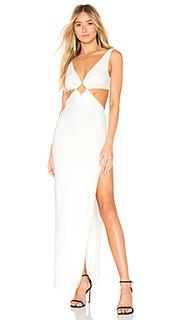Вечернее платье с вырезом wino - NBD